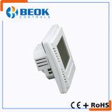 青いバックライトLCDの表示の床暖房のサーモスタット(TOL43-EP)