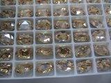 Do corte decorativo de Muchine da fábrica de China grânulos de cristal para a fatura da jóia