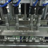 Linea di produzione di riempimento della macchina di sigillamento dell'olio detersivo automatico pieno dello sciampo