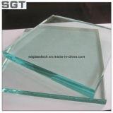12mm de verre flotté clair de la piscine avec l'Escrime Paquet de châssis