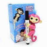 La scimmia felice della barretta della scimmia della scimmia del bambino dei pesciolini gioca il prezzo di fabbrica del commercio all'ingrosso del pacchetto del contenitore di regalo di 6 funzioni