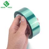 Пэт-пленка с покрытием силиконовый зеленой защитной лентой для высокой температуры