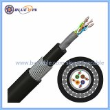 En el exterior de la resistencia UV negro cable UTP Cat5e de calidad externo&cables CAT6
