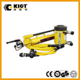 (KET-RR Series) Double Acting Hollow Hole Hydraulic Cylinder