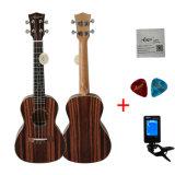 Java Incn Aiersi 24 Commerce de gros de l'Ébène ukulele concert Instrument de musique
