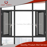 Anti- Theft Thermal BREAK aluminum Casement Window with Fly screen