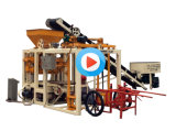 La qualité semi-automatique Burning-Free brique creuse machine à fabriquer des blocs de béton