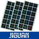 Het Zelfklevende Etiket die van de Veiligheid van de douane 3D Sticker van het Hologram afdrukken