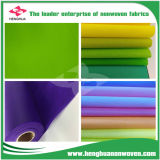 Superventas crear la tela no tejida del modelo para requisitos particulares TNT Spunbond con diverso color