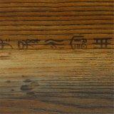 Papel baixo decorativo da grão de madeira cultural do estilo para a tabela de jantar (K1738)