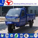 Закрытое китайских грузовых дизельных моторных три колеса погрузчика с