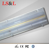 Luz linear de alta qualidade do diodo emissor de luz de 0.6m/1.2m/1.5m com a lente do diodo emissor de luz de Intergral