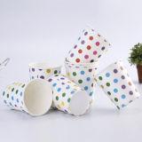 Impresos personalizados taza de té de papel desechables 8 oz.