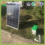 LCD 디스플레이와 DC/AC 산출을%s 가진 공장 가격 재력 20W 태양 에너지 시스템