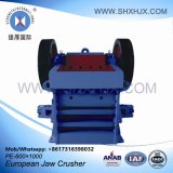 Planta machacante móvil de la rueda mineral de la maquinaria del surtidor de Shangai