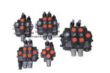 Válvulas de control direccionales hidráulicas funcionadas manuales de la válvula de Monoblock