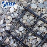 Rete metallica di tessitura normale quadrata unita