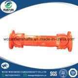 Acoplador de eje de cardán de W51.5 L=870 para el motor de petróleo usado en maquinaria del aparejo de la perforación petrolífera con alta calidad