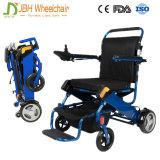Faltbare Energien-elektrischer Rollstuhl mit 24V 6ah Lithium-Batterie