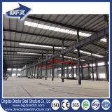 Taller prefabricado diseño modificado para requisitos particulares de la construcción del marco de acero hecho en China