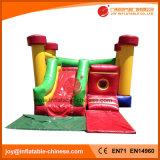 Het Springen van de wildernis het Opblaasbare Stuk speelgoed van de Uitsmijter met Dia (T3-215)