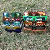Lunettes de soleil en plastique de vente chaude de grande qualité d'usine de la Chine