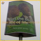 Publicidad de poste ligero Lightbox