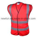 Gilet de sécurité réfléchissant de transport avec des poches par Eniso20471