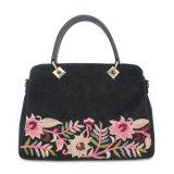 Señora 2019 de la PU del bolso de la flor del bolso del bordado Fashion Handbag