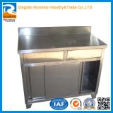 Materiais de construção armário de cozinha em metal de alumínio do armário