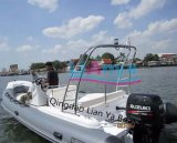 Liya 10persons steifes Geschwindigkeits-Boots-MilitärPatrouillenboote für Verkauf