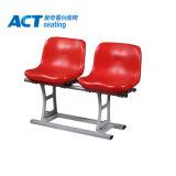 En la pared del Estadio de los asientos de plástico de HDPE silla con el medio de vuelta