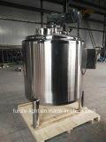 En acier inoxydable de qualité alimentaire cuve de mélange de chauffage à vapeur
