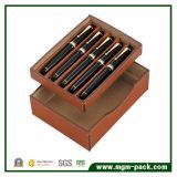إنجاز عادية لامعة خشبيّة قلم صندوق لأنّ تعليب
