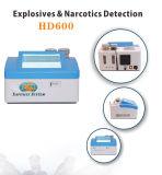 Detector explosivo del rastro de la seguridad y sistema de detección explosivo