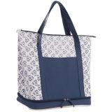 Capacité de bleu marine la grande isolée met en sac des emballages plus frais