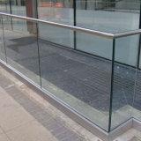 아파트 수영풀 담 알루미늄 U 채널 Frameless 유리제 방책