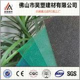 Feuille solide de toiture de feuille de polycarbonate givrée par opale pour des matériaux de construction