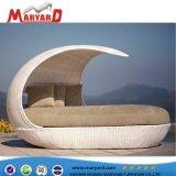 De professionele Aangepaste Chaise van de Rotan van het Meubilair van het Terras Tuin Sunbed Daybed van de Stoel van de Zitkamer