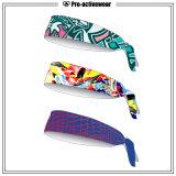 Frauen-Mann-billig justierbares elastisches Sport-Stirnband
