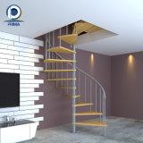 錬鉄のステアケースデザインスペース節約の螺線形階段