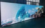 P10 de alta resolución de pantalla LED de color para el techo de la publicidad