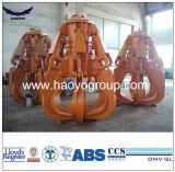 Mise au rebut d'Orange hydraulique électrique Grab sur la vente