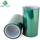 Verde Bomei aislamiento resistente a alta temperatura adhesivo de silicona cinta de enmascarar de Pet