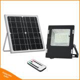 Angeschaltene im Freiensolarlampe des LED-Flut-Licht-50W für Hausgarten