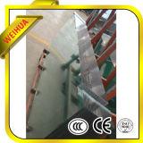 Flaches und gebogenes niedriges Eisen-ausgeglichenes Glas für Handelsgebäude