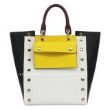 De Kleur van het contrast Dame Handbag Bow Dame Handbag