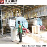 Wnsのタイプねじ糸の煙管の中国の火管の天燃ガスのディーゼル油の燃料の蒸気ボイラの価格