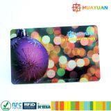 Cartão plástico pré-imprimido 1K clássico de MIFARE EV1 RFID