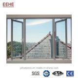 Алюминиевые двери Windows Casement для европейца/конструкции Америка